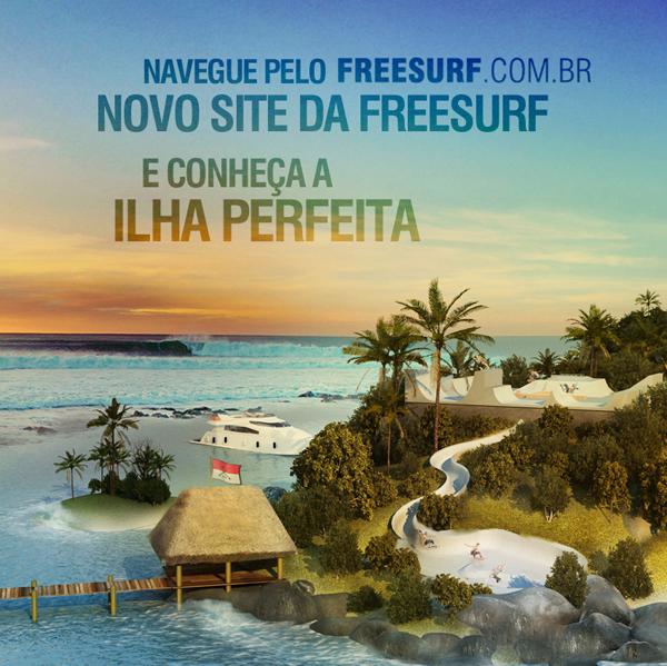 Navegue pela ilha perfeita da FreeSurf
